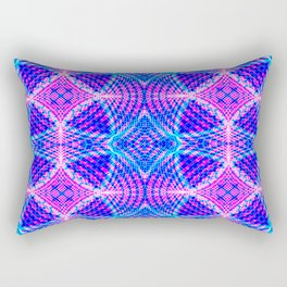 psychedelic lines Rectangular Pillow