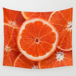 Orange Wall Tapestry