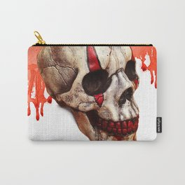 Circus Clown Skull Carry-All Pouch