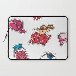 SLAY FLASH PATTERN Laptop Sleeve