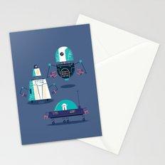 :::Mini Robot-Nanoi::: Stationery Cards