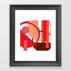 Pathetically Lazy (Too) Framed Art Print