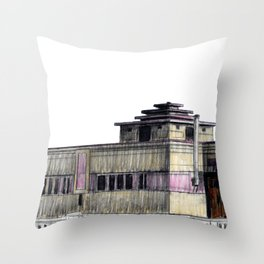 GALLERY SQUARE CHALET Throw Pillow