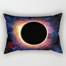Artistic XCV - Solar Eclipse Rectangular Pillow