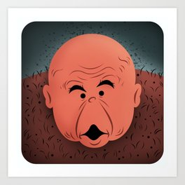 "George ""The Animal"" Steele Art Print"