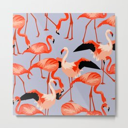 flamingo no. 01 Metal Print