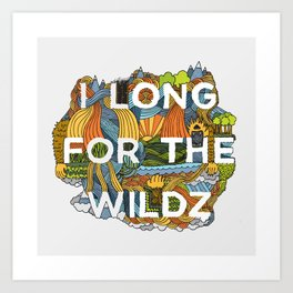 The Wildz Art Print