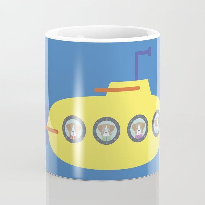 The Beagles - Yellow Submarine Coffee Mug