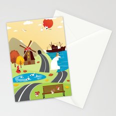 Planet Life Stationery Cards