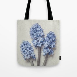Light Blue Hyacinths Tote Bag