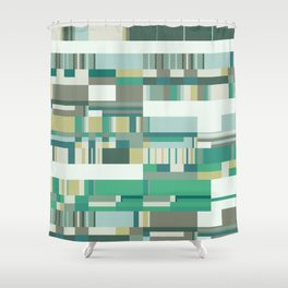 Debussy Little Shepherd (Greens) Shower Curtain