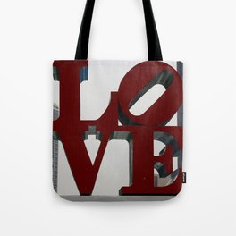 Love Philadelphia Sculpture Tote Bag