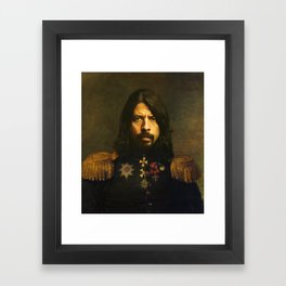 Dave Grohl - replaceface Framed Art Print