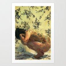 Goldyla Art Print