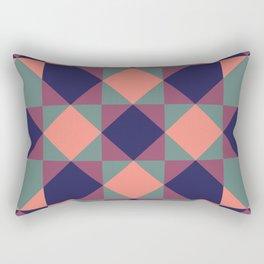Native Patchwork Pattern Osiris Rectangular Pillow