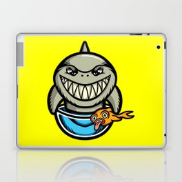 Spike the Shark Laptop & iPad Skin