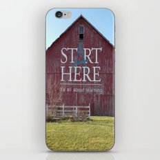 Start Here, It's All About Learning iPhone & iPod Skin