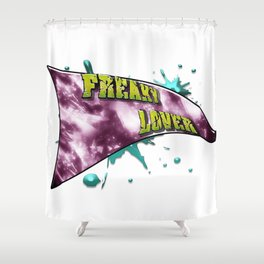 Freaky lover Shower Curtain