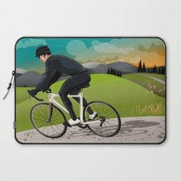 Road Cyclist Laptop Sleeve