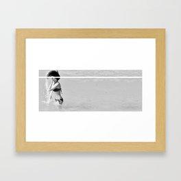 That Baywatch Scene  Framed Art Print