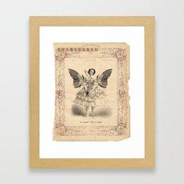 simpleness Framed Art Print