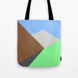 Road to the snow Tote Bag