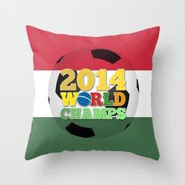 2014 World Champs Ball - Hungary Throw Pillow