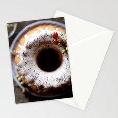 bundt cake Stationery Cards
