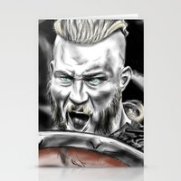 vikings Stationery Cards featuring vikings by Flyens