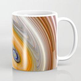 Abstract swirl rainbow background Coffee Mug