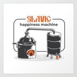 Slavic Happiness Machine Art Print