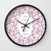 lyrics Wall Clocks featuring More Than This Lyrics by summergirl