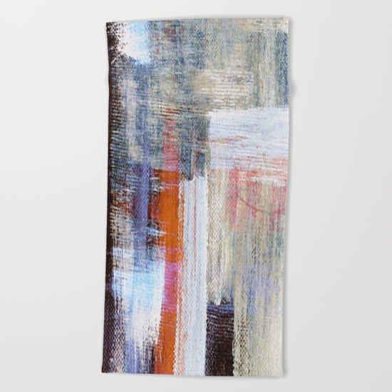 Acryl VI Beach Towel