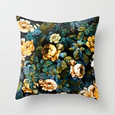Night Forest IV Throw Pillow