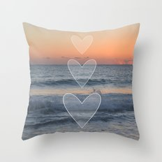 Dusk or Dawn Throw Pillow