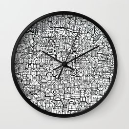 You Are Here #10 Wall Clock