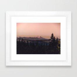 Mountain Morning IV Framed Art Print