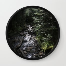 Hike to Tabletop Mountain Wall Clock