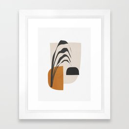 Abstract Shapes 3 Framed Art Print