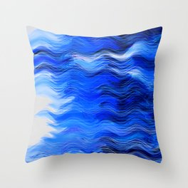 Abstract Composition 285 Throw Pillow