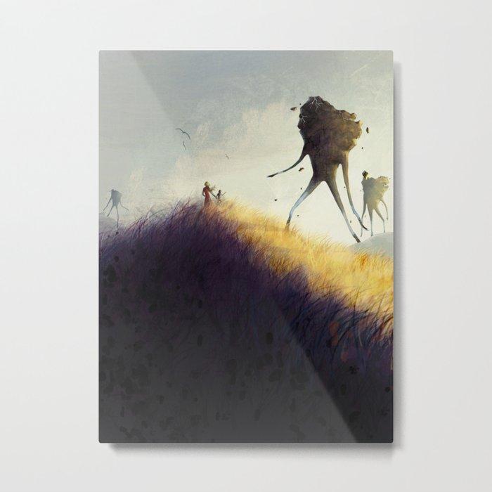 The Earth Giants Metal Print