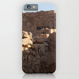 Masada Ruins iPhone Case