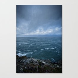 The Tempestuous Sea Canvas Print