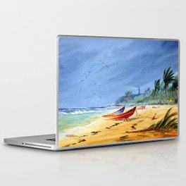 Puerto Rico Beach Laptop & iPad Skin