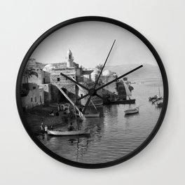 View of Tiberias Wall Clock
