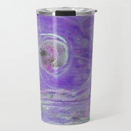Innere Auge des Orkan´s abstrakt Travel Mug