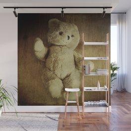 Old Teddy Bear Wall Mural
