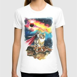 Corgi Galaxy T-shirt