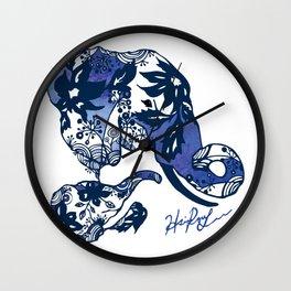 My sweet elephant Wall Clock