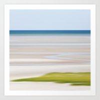 Tide Lines Art Print